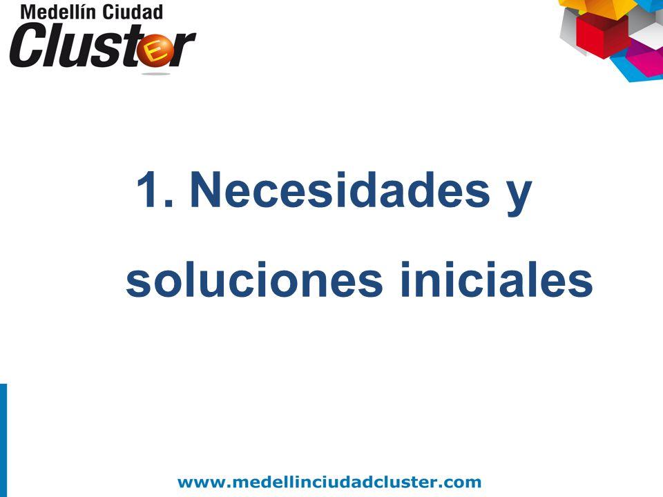 1.Necesidades y soluciones iniciales