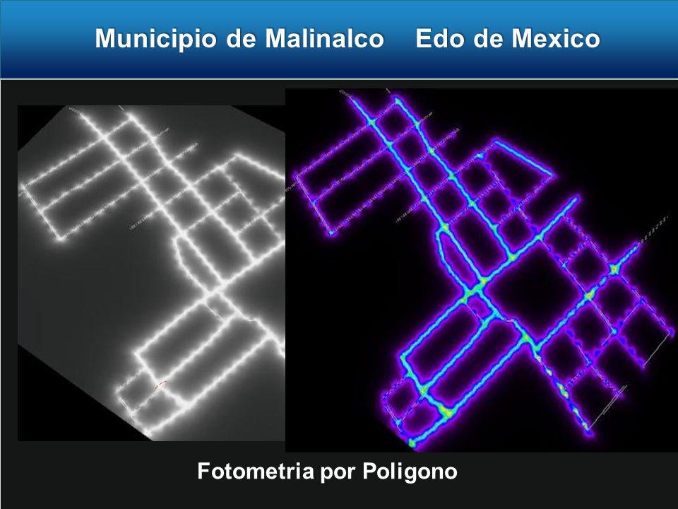 Municipio de Malinalco Edo de Mexico Municipio de Malinalco Edo de Mexico Fotometria por Poligono
