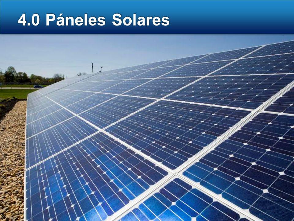 4.0 Páneles Solares