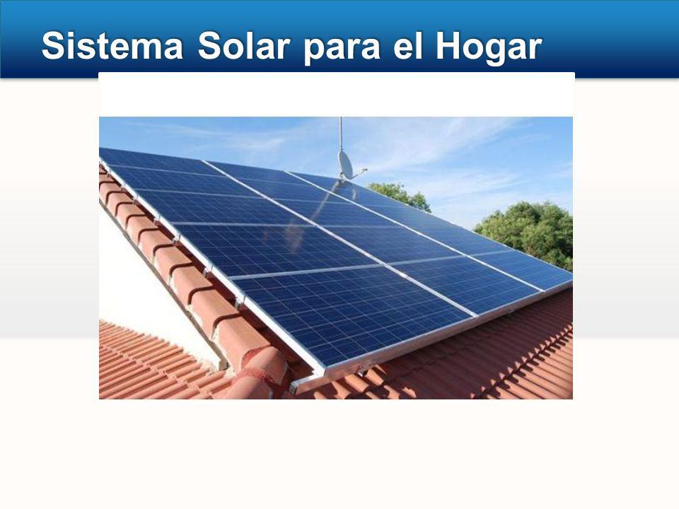 Sistema Solar para el Hogar