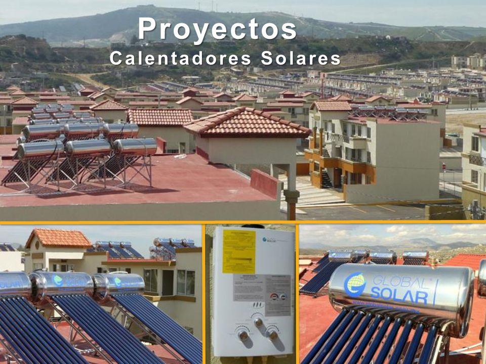 Proyectos Calentadores Solares