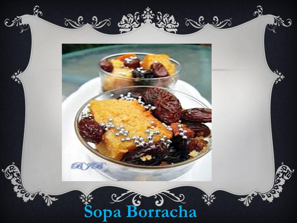 Sopa Borracha
