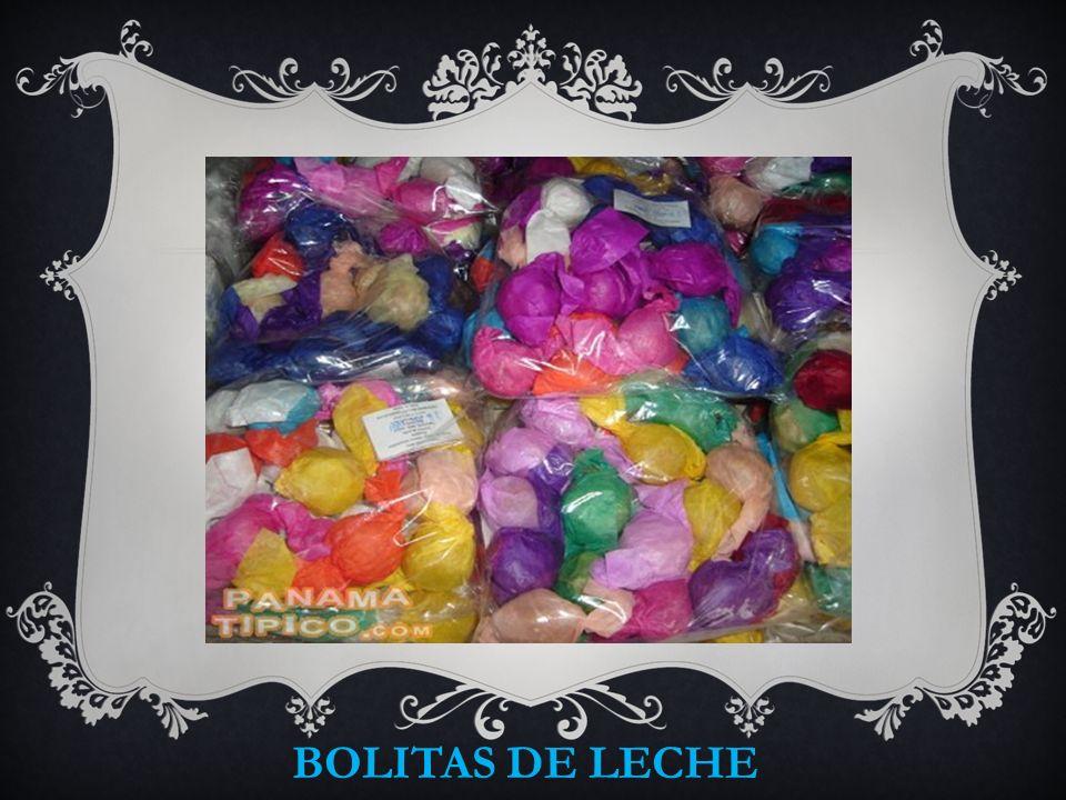 BOLITAS DE LECHE