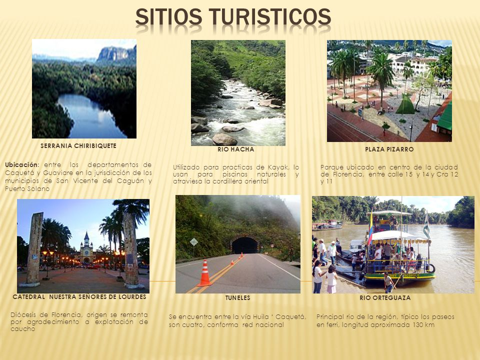 SERRANIA CHIRIBIQUETE Ubicación : entre los departamentos de Caquetá y Guaviare en la jurisdicción de los municipios de San Vicente del Caguán y Puert