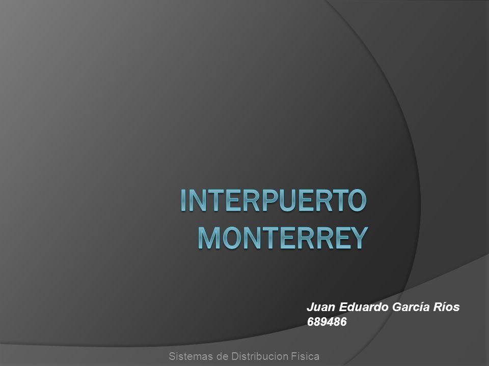 Sistemas de Distribucion Fisica Juan Eduardo García Ríos 689486