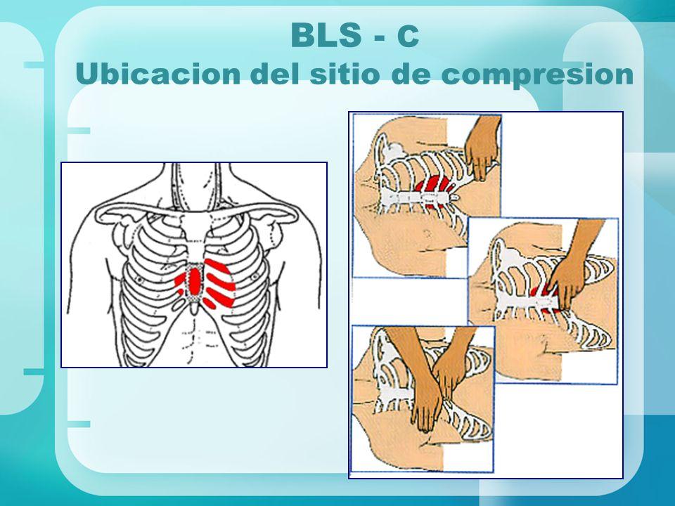 BLS - C Ubicacion del sitio de compresion