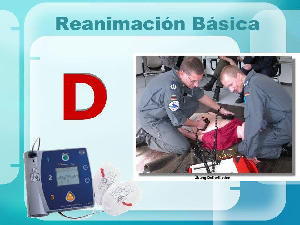 Reanimación Básica D D