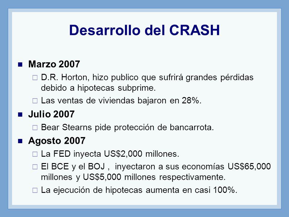 Desarrollo del CRASH Marzo 2007 D.R.