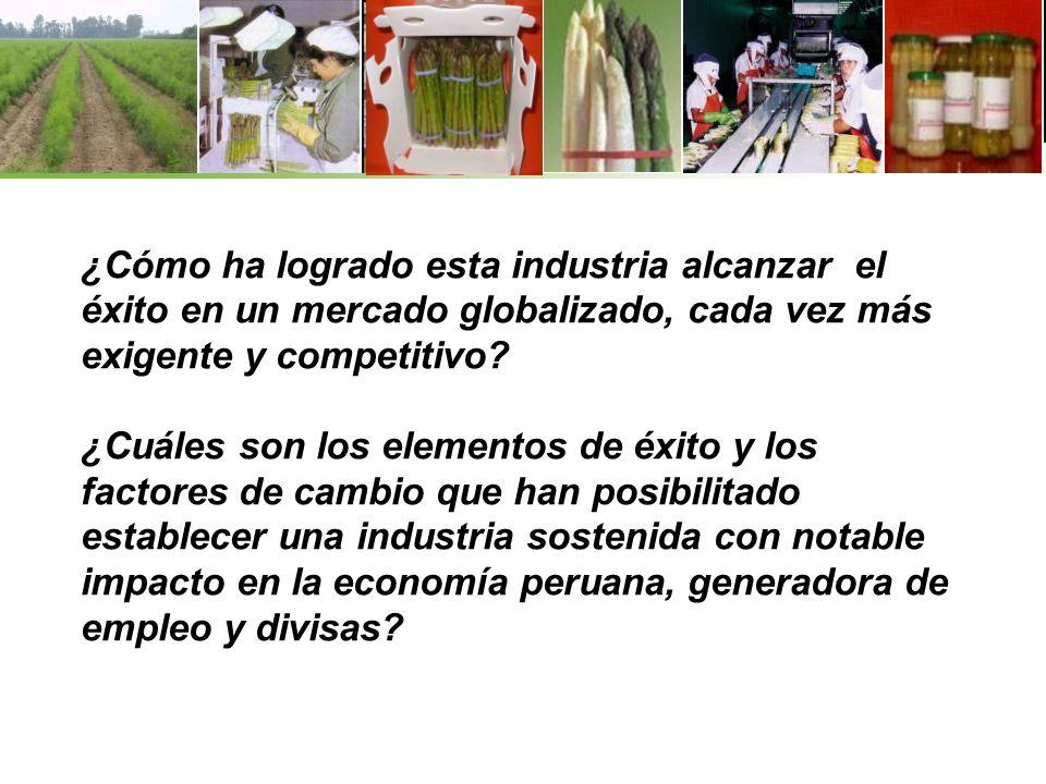 ¿Cómo ha logrado esta industria alcanzar el éxito en un mercado globalizado, cada vez más exigente y competitivo? ¿Cuáles son los elementos de éxito y
