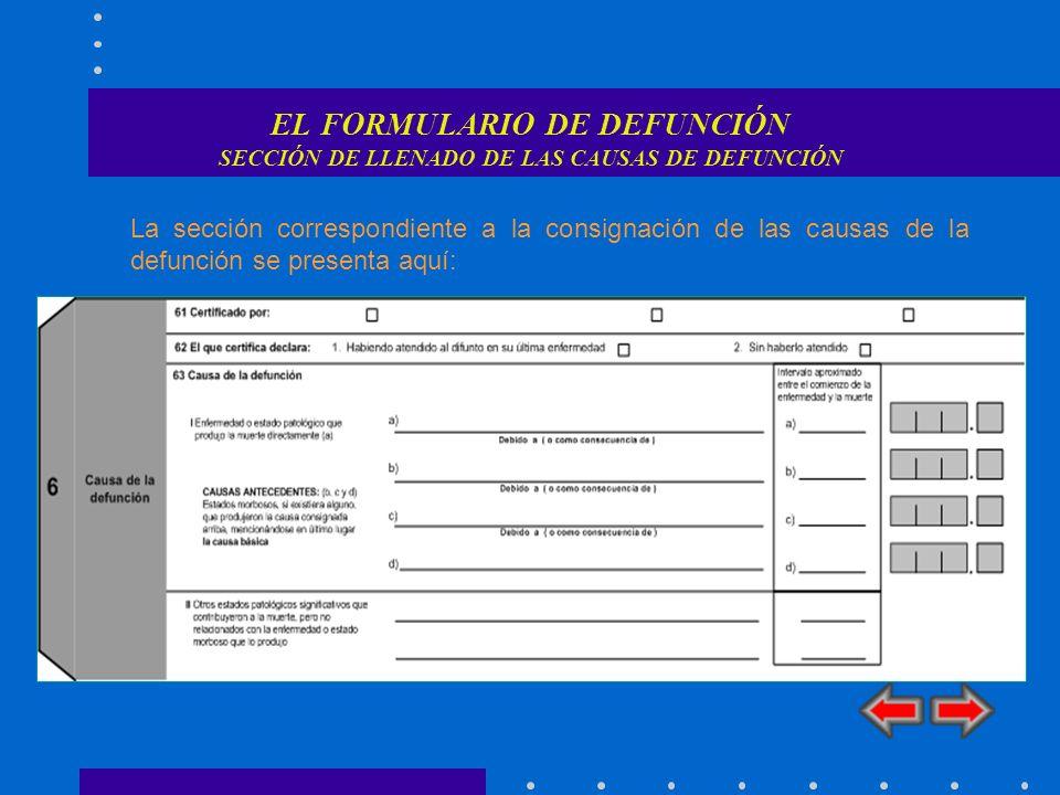 REGLAS DE SELECCIÓN REGLA 1 Regla 1 Si el Principio General no es aplicable y hay una secuencia informada que termina en la afección que se menciona primero en el certificado, se selecciona la causa que origina dicha secuencia.