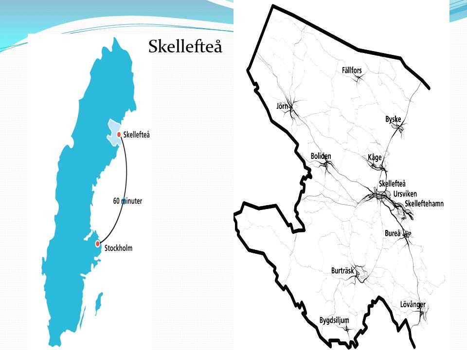 La comuna de Skellefteå Skellefteå