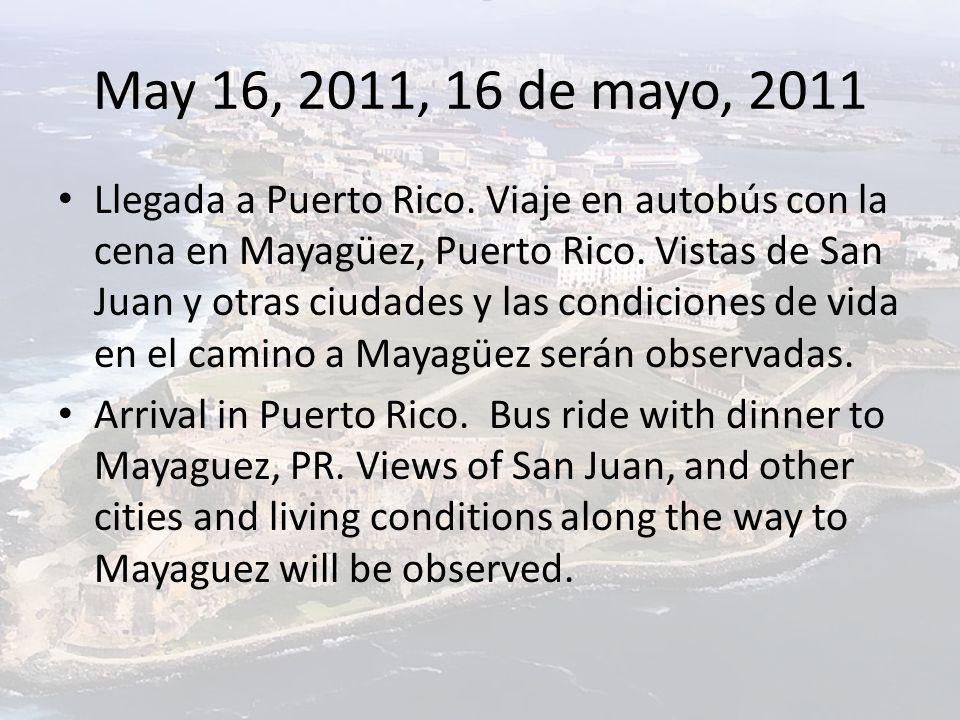 May 25 th, 2011, 25 de mayo, 2011 Visit Castillo Serralles in Ponce, PR, see a video and learn about the history of sugar cane and rum making in the Carribean and, in particular, the history of the Serralles family.