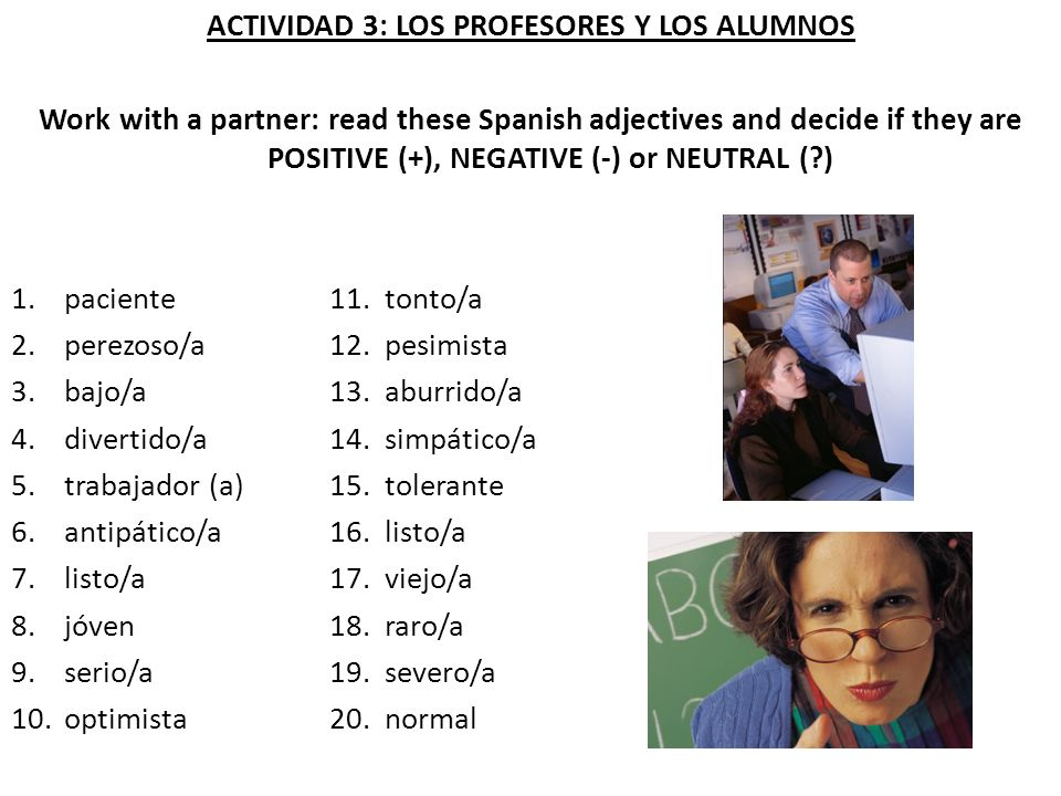 ACTIVIDAD 13: LA RUTINA DIARIA Work with a partner: work out the order in which Pablo does these things.