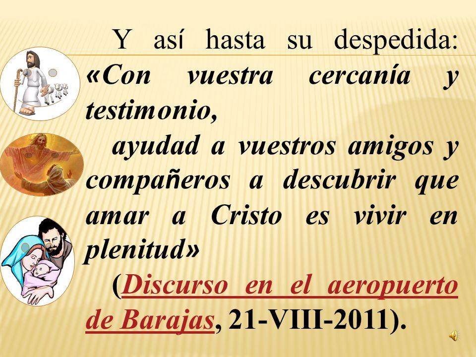 El Año de la Fe se inscribe en esta finalidad: «Dar un renovado impulso a la misión de toda la Iglesia y sacar a los hombres fuera del desierto en el