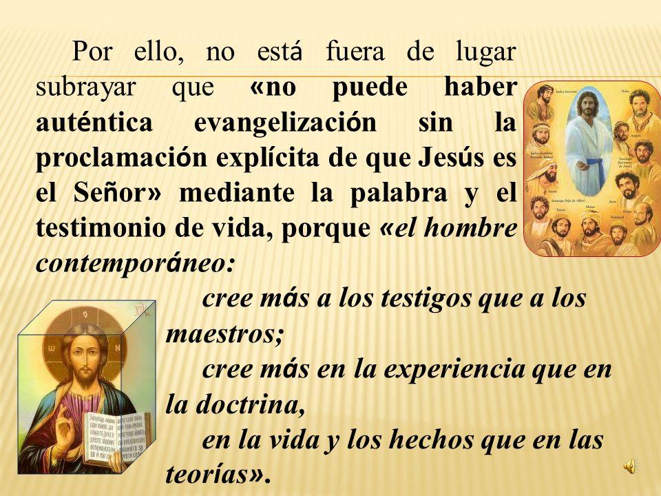 Primera parte LAICOS PARA LA NUEVA EVANGELIZACI Ó N Las leyes fundamentales que gu í an el proceso de evangelizaci ó n Card. Joseph Ratzinger Card. St