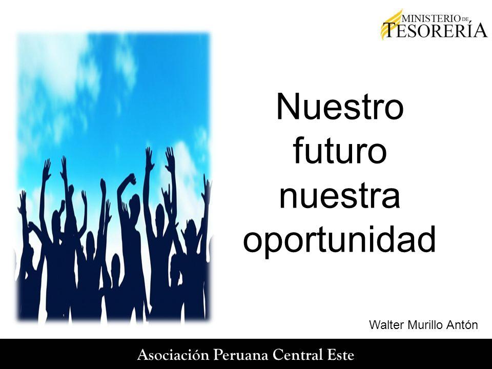 Nuestro futuro nuestra oportunidad Walter Murillo Antón