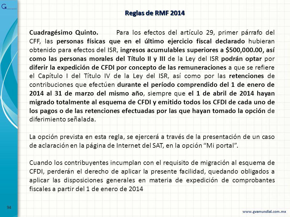 94 Cuadragésimo Quinto. Para los efectos del artículo 29, primer párrafo del CFF, las personas físicas que en el último ejercicio fiscal declarado hub