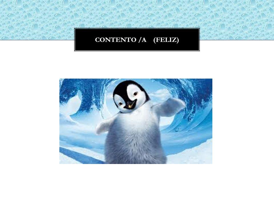 CONTENTO /A (FELIZ)