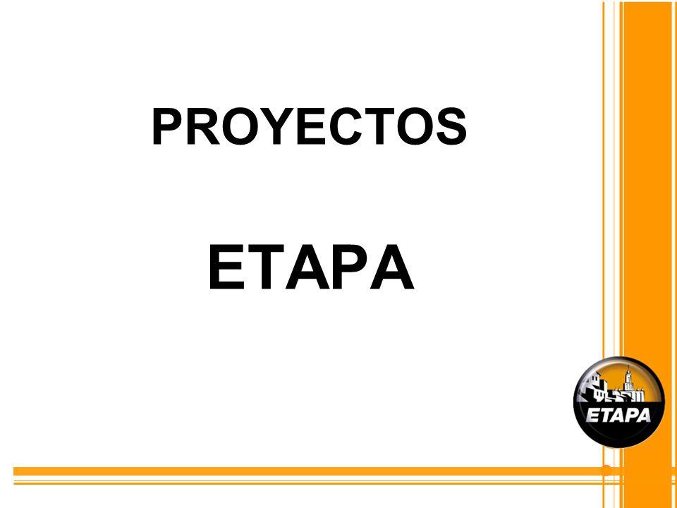 Orientación de la Gestión El compromiso de ETAPA con la comunidad exige que la Empresa esté en un permanente proceso de renovación, teniendo como directriz, siempre, el aporte al desarrollo del Cantón, por ello los proyectos que se han definido para el año 2010 tienen esa orientación: Apoyar no sólo al crecimiento, sino al desarrollo de la población y convertirse en una de las herramientas para la construcción de la Ciudad de las Ciencias y el Conocimiento.