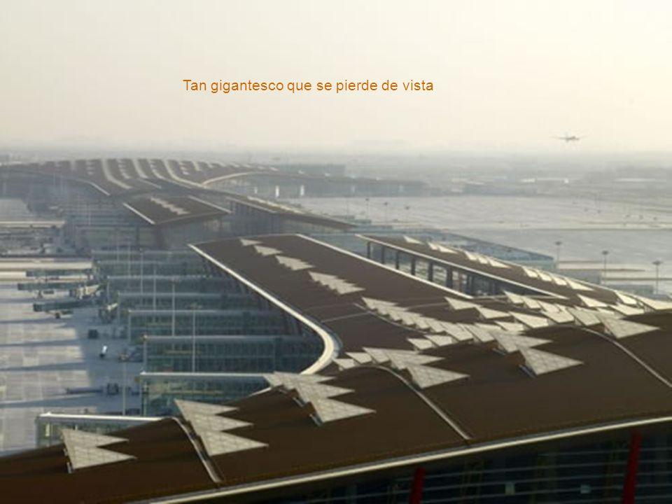 El mayor y más avanzado aeropuerto en el mundo - no sólo en tecnología - en eficiencia, sustentabilidad y cuidado de los pasajeros.
