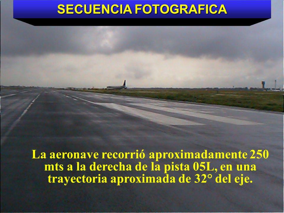 Direcciön General de Aeronáutica Civil Trayectoria de la aeronave desde la pista 05L