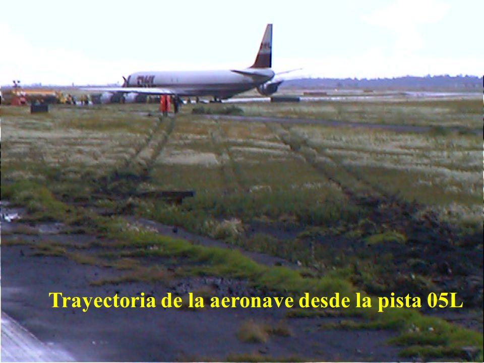 Direcciön General de Aeronáutica Civil Daño alcantarillado acotamiento pista 05L