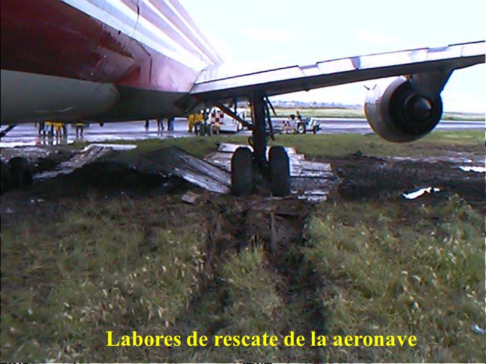 Direcciön General de Aeronáutica Civil Hundimiento sobre el terreno de la aeronave