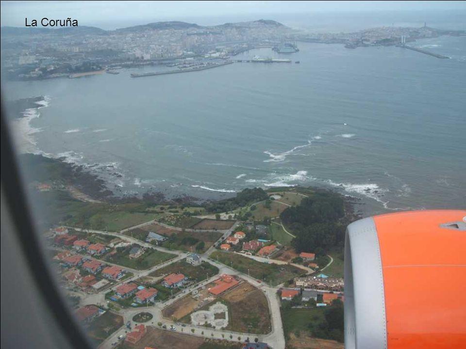 Vista general del Puerto de La Coruña