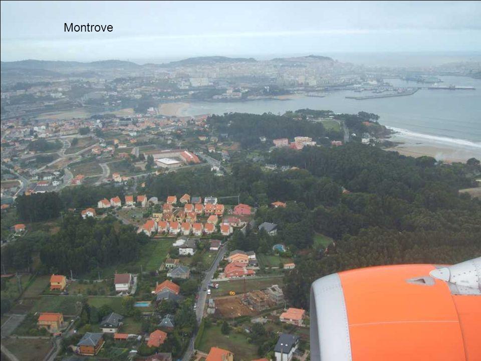 Playas de Bastiagueiro y Santa Cristina, al fondo Los Castros y mi casa.