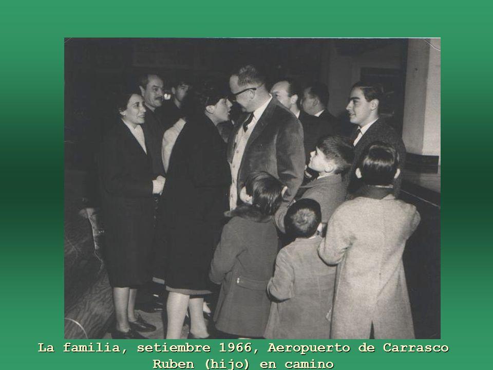 Setiembre 1966, rumbo a EUA