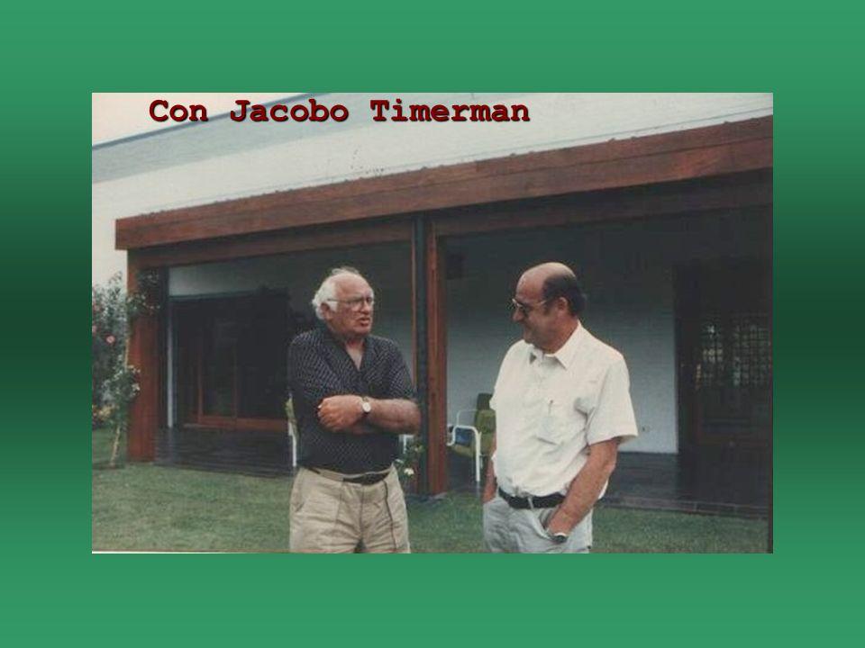 Con Jacobo Timerman