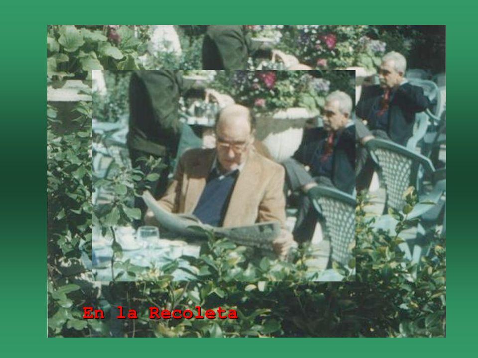 Caminando con Tulio Halperín Dongui, Julio 1993, Montevideo