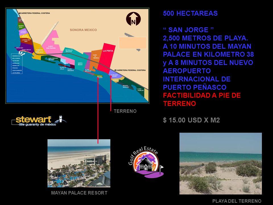 8,000 HECTAREAS SAN JORGE 16 KILOMETROSMETROS DE PLAYA.