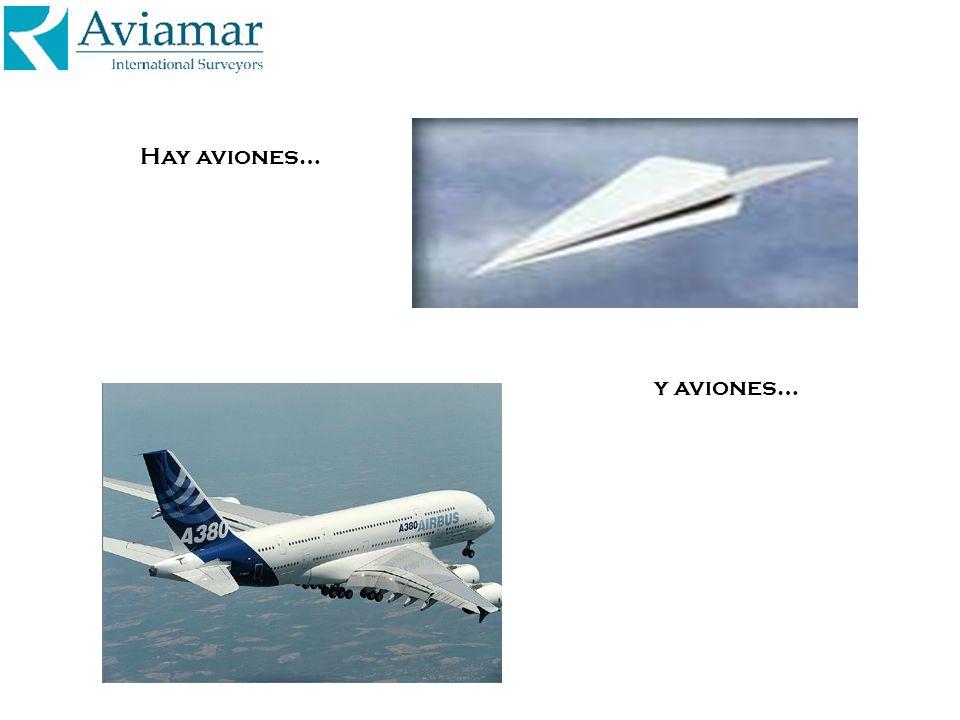 Hay aviones… y aviones…
