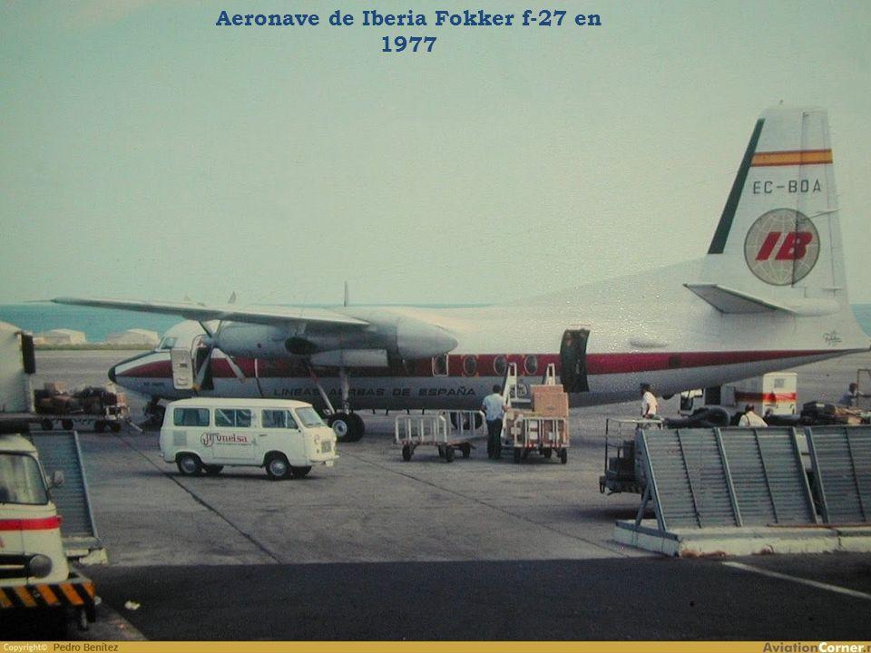 Avión DC-14 de Spantax en 1972