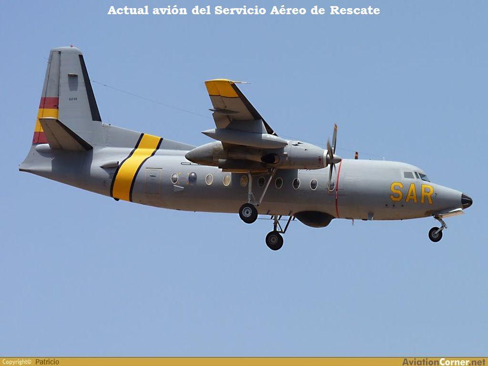 Antigua avioneta del Servicio Aéreo de Rescate. Año 1960
