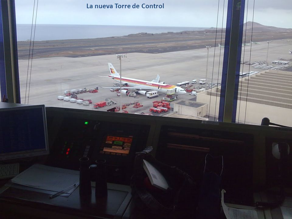 Vista aérea de las pistas del Aeropuerto de Gran Canaria