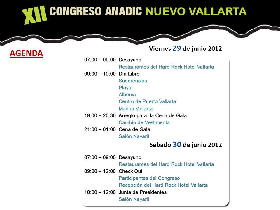 Sábado 30 de junio 2012 Viernes 29 de junio 2012