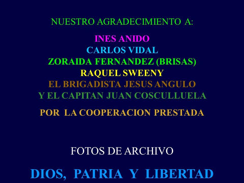 NOS CUADRAMOS RESPETUOSA Y ORGULLOSAMENTE ANTE LOS BRIGADISTAS CEFERINO ALVAREZ CASTELLON FELIZ PEREZ TAMAYO GUSTAVO GARCIA MONTES HUGO SUEIRO JUAN JO