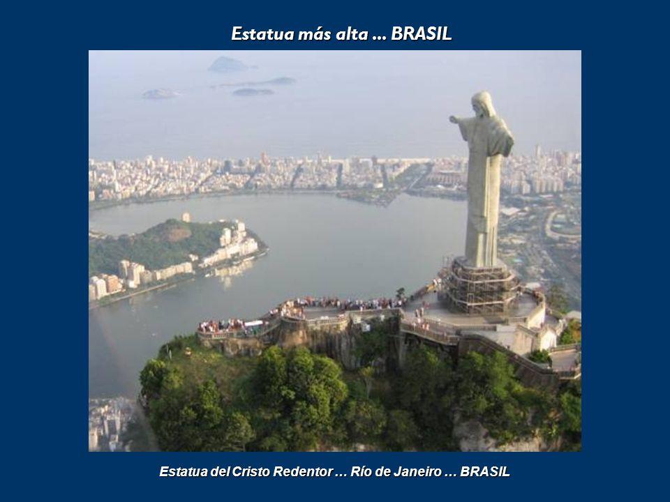Estadio más grande... BRASIL