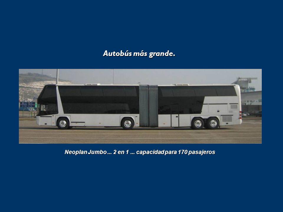 Autobús más grande.