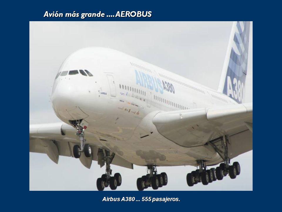 Avión más grande.... AEROBUS