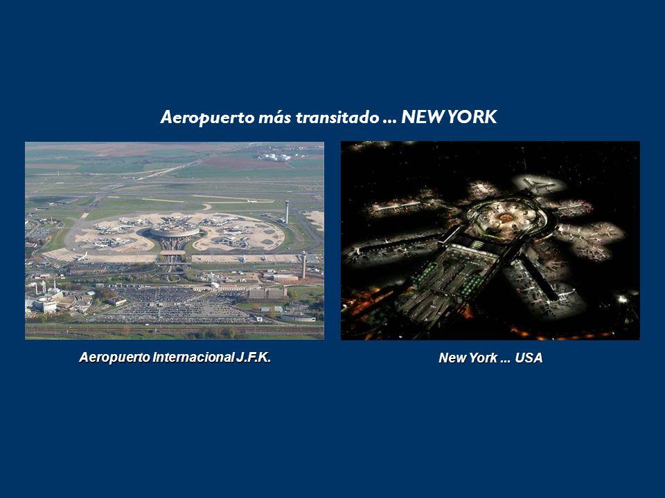 Aeropuerto más transitado... NEW YORK