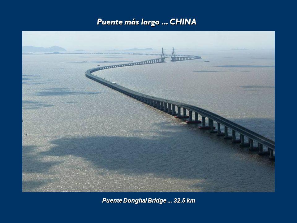 Puente más largo... CHINA