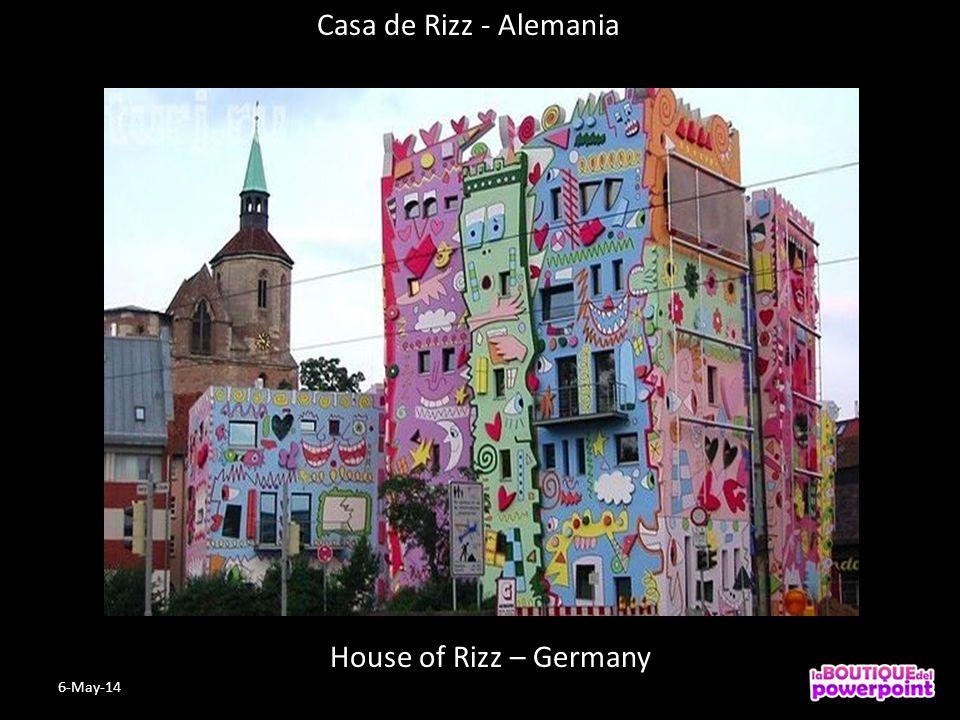 House of Rizz – Germany Casa de Rizz - Alemania 6-May-14