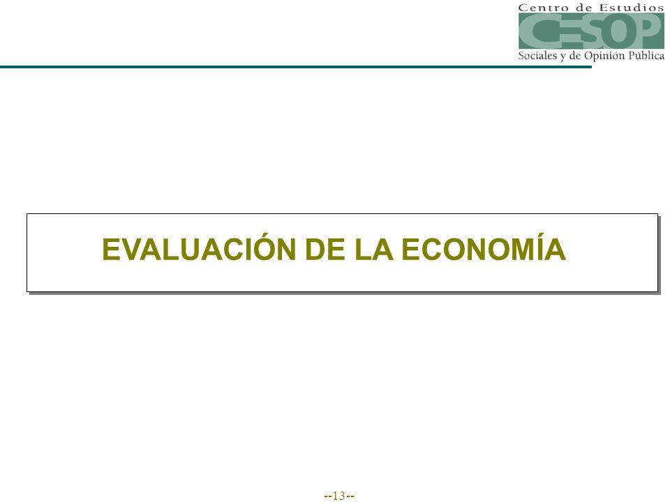 --13-- EVALUACIÓN DE LA ECONOMÍA