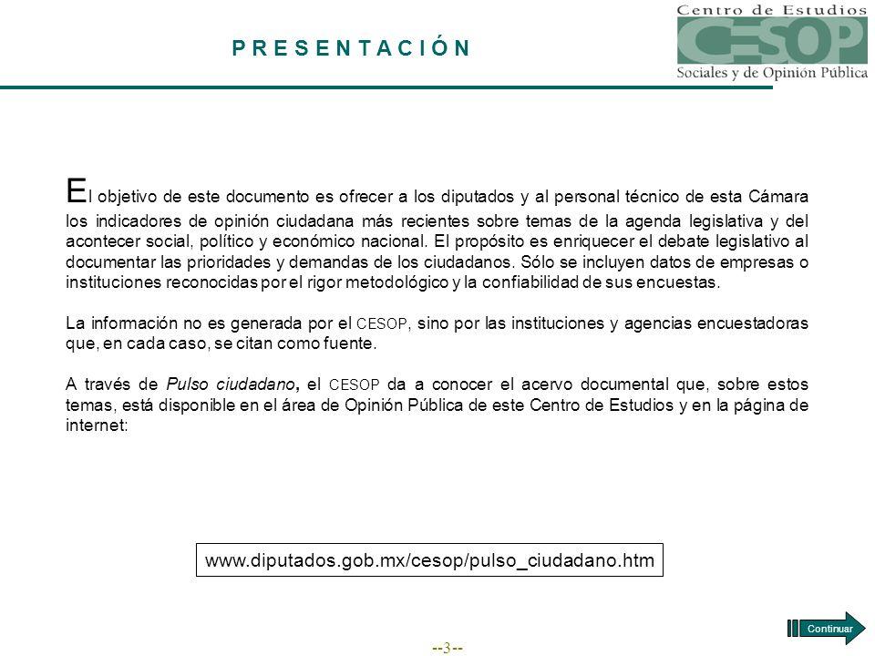 --24-- EVALUACIÓN PRESIDENCIAL Fuente: BGC, Ulises Beltrán y Asociados, Acontecer Nacional y Opinión Pública, junio de 2006.