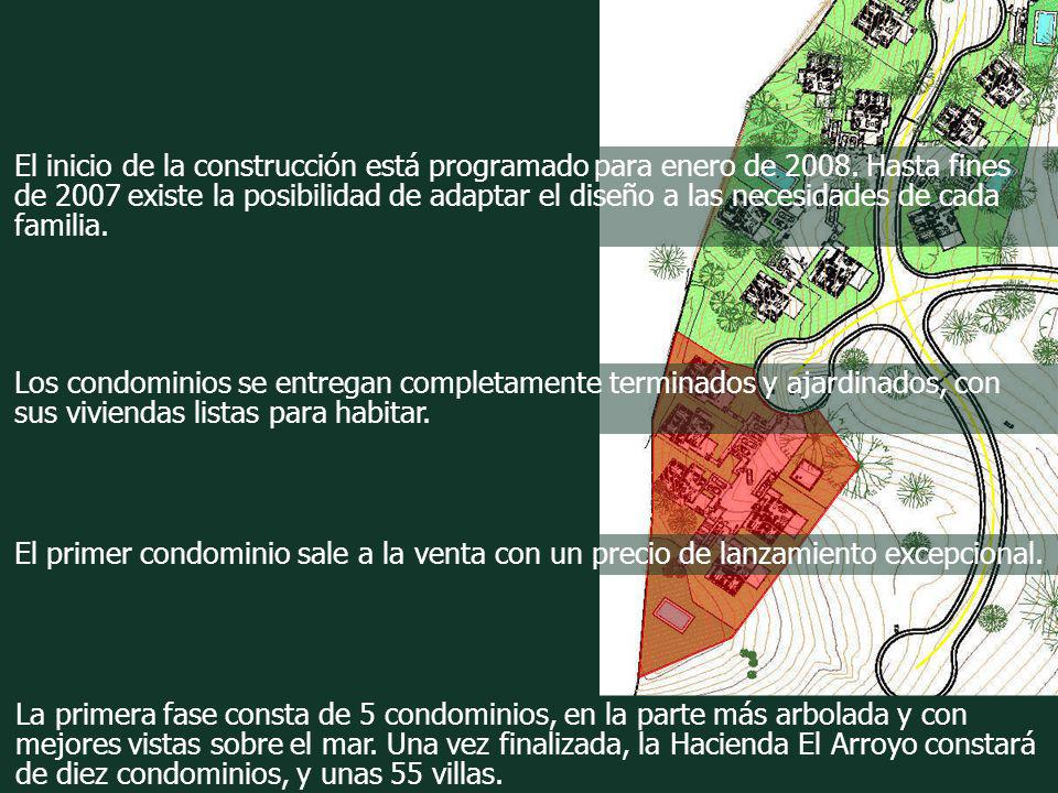 El inicio de la construcción está programado para enero de 2008. Hasta fines de 2007 existe la posibilidad de adaptar el diseño a las necesidades de c