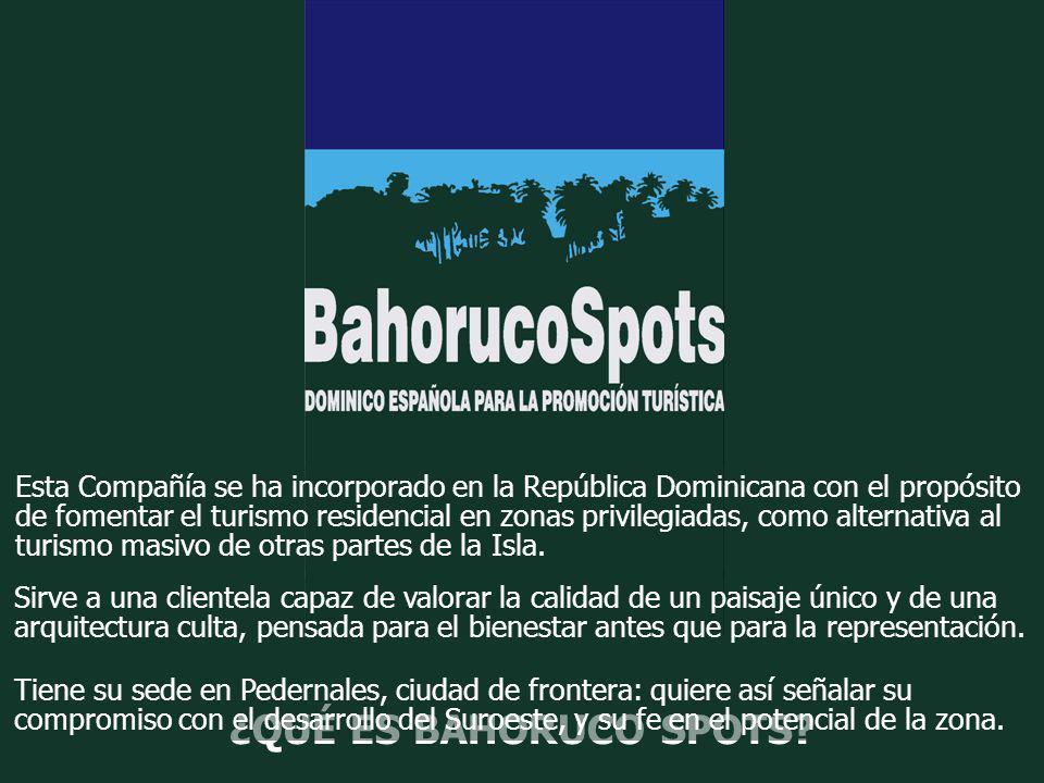 Esta Compañía se ha incorporado en la República Dominicana con el propósito de fomentar el turismo residencial en zonas privilegiadas, como alternativ