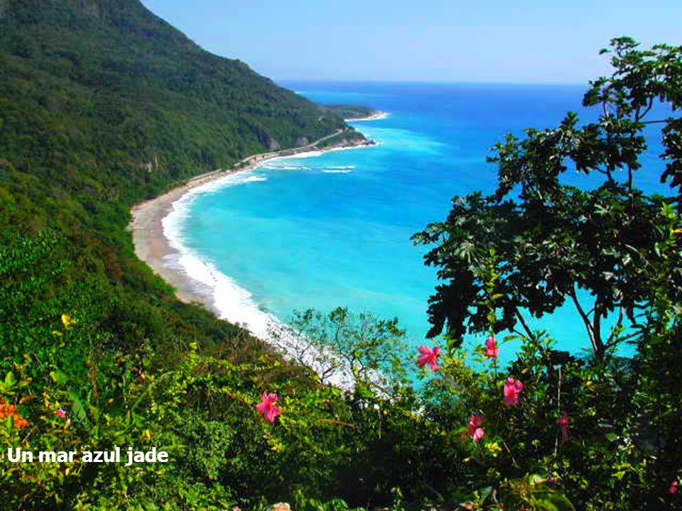 La Sierra de Barohuco y sus bosques húmedos, Un mar azul jade